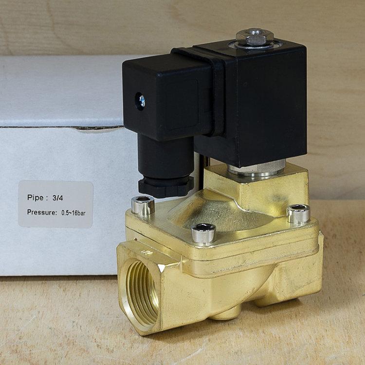 Клапан соленоидный Ду20 Ру16 бар SG55325