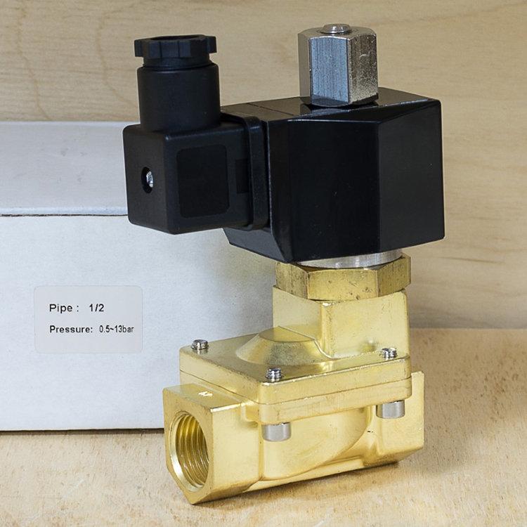 Клапан соленоидный нормально-открытый Ду15 SG55344