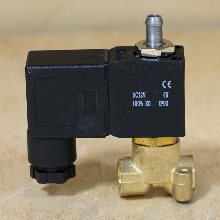 """Клапан соленоидный трёхходовой G 1/8"""" SM33606"""